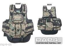 Counterstrike Paintball Airsoft Vest Like GxG  (Digital Camo) [AZ4]