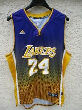 Maillot basket LOS ANGELES LAKERS shirt NBA ADIDAS jersey BRYANT trikot n°24 XL