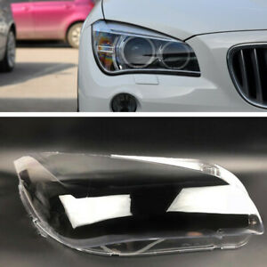 Right Headlight Headlamp Clear Lens Auto Shell Cover For BMW X1 E84 2010-2014