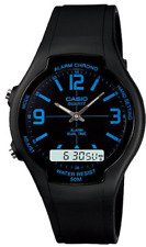 Casio    AW-90H-2B  Alarm  Dual Time  Watch  Analog  Digital  50M   AW90