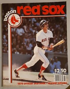 1979 BOSTON RED SOX Oficial Yearbook second edition- Excellent