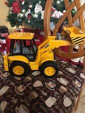 Bruder JCB 4CX fron End Low Loader Construction Toy