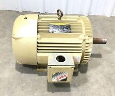 Baldor Em4110t Super E Electric Motor 40 Hp 1775 Rpm 3 Ph 230460 V 9648 Amps