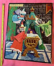 Vintage 1958 Whitman Walt Disney Sleeping Beauty Frame Tray Puzzle 1950s Fairies