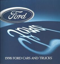 Mint Original/Official 1998 Ford Cars and Trucks Sales Brochure Mustang F-Series