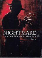 7 Dvd Box Cofanetto NIGHTMARE - LA COLLEZIONE serie completa 7 Film nuovo