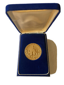 Los Angeles 1984 Olympic Games Participation Medal In Original Case