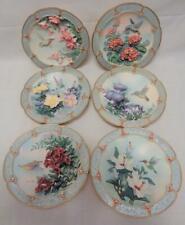 Lena Liu Hummingbird Morning Jewels 3D Plates X6
