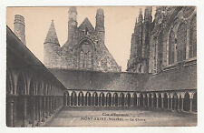 *** Mont-Saint-Michel - Le Cloître *** SD - CPA 1406