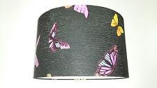 """14""""/35cm Julien Macdonald (FlutterBy Butterflies) Wallpaper LAMPSHADE.Black."""