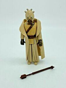 Tusken Raider Sand People Vintage Star Wars Figure 1977 & Original Weapon