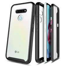 For LG Stylo 6 Case Ultra Thin Clear Phone Cover With Built-In Screen Protector