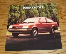 Original 1988 1/2 Ford Escort Sales Brochure 88