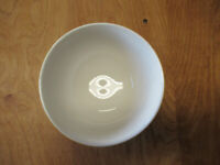 "MSE Martha Stewart CANARY BANDED Soup Cereal Bowl 6""    2 available"