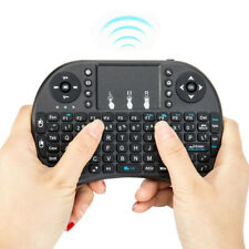 2.4GHz Mini Wireless Remote Keyboard Mouse Touch Pad +USB Receiver For Smart TV