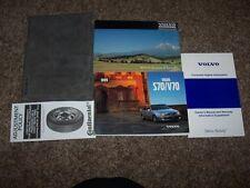 1999 Volvo S70 V70 Owner Operator User Guide Manual GLT XC R T5 2.3L 2.4L