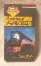 Video Rails Classic Collector's Series SOUTHERN PACIFIC 1941 VHS Railroad Train