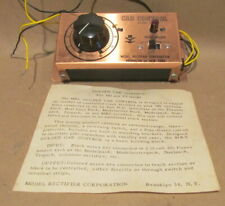 MRC CAB CONTROL MODEL 2 WITH INSTRUCTIONS