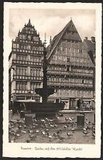 Hannover Tauben auf dem Altstädter Markt 1920's RPPC by Verlag D. Müller UNUSED