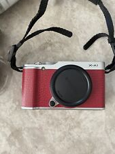 Fujifilm X-A1 Red Camera With Case And Accessories