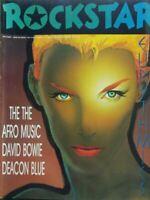 ROCKSTAR N.108 SETT. 1989 DAVID BOWIE EURYTHMICS