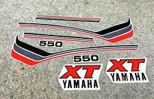 Yamaha XT 550 1982 mod. bianco