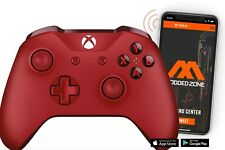 Red Xbox One S SMART Custom Rapid Fire Modded Controller. FPS mods. COD