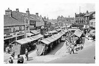 pt5148 - Heckmondwike , The Market , Yorkshire - photo 6x4