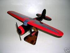 5B Lockheed Vega Harley Davidson 5B Airplane Desk Wood Model Small New