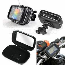 Bike Handlebar Mount Holder Waterproof case for 5 inch GPS Case Garmin Nuvi 200