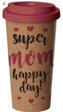 """Kaffeebecher """"CORKY CUP"""" Für Die Mutter, 500 ml, Naturprodukt Kork  Neu Ovp"""