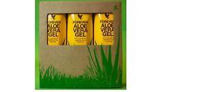Aloe Vera Gel Tripack brand new Forever Living 3x 1000ml