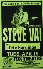 Steve Vai Boulder Original Concert Poster