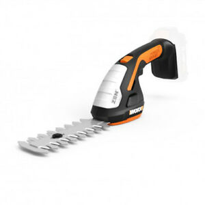 """WORX WG801.9 20V Cordless 8"""" Shrubber Trimmer -Tool Only (No Battery or Charger)"""