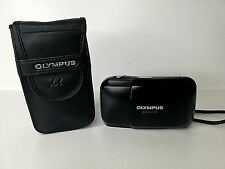 OLYMPUS MJU 1  BLACK , AF,35mm CAMERA, PLUS CASE