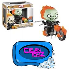 Funko Pop! Marvel Ghost Rider With Bike Glow In The Dark PX Exclusive PRE-ORDER