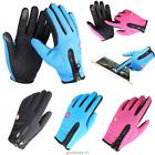 Men Women Winter Touch Screen Windproof Waterproof Outdoor Sport Driving Gloves.
