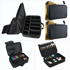 "L-13.5"" Makeup Brush Bag Case Cosmetic Storage Handle Organizer Artist Travel"