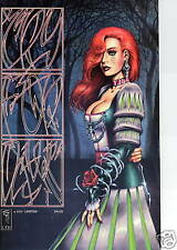 Cry for Dawn 8 Limited edition signed Joe Linsner Monks