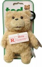 Talking Ted Bear With Sounds X Rated 6 Inch Backpack Clip Brand New Gift
