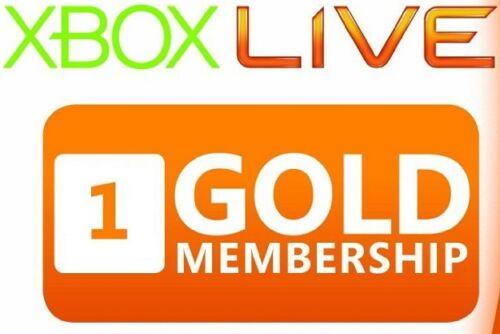 Info 1 Month Xbox Live Gold Membership Travelbon.us