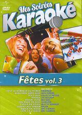 Mes Soirées Karaoke : Fêtes vol. 3 (DVD)