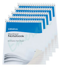 "5 x 160 Page Notepad Notebook Shorthand Pad 8"" x  5""- Same Day Dispatch"