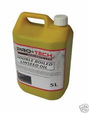 Double Boiled Linseed Oil - 5 Litres