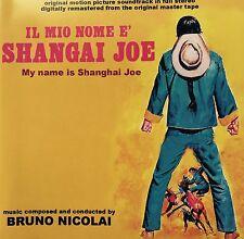 BRUNO NICOLAI - MY NAME IS SHANGHAI JOE Spaghetti Western Soundtrack CD