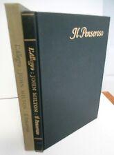 John Milton & William Blake, L'ALLEGRO & IL PENSEROSO  Limited Editions Club
