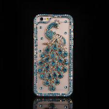 DIY Glitter Jewelled Bling Crystal Diamonds Soft gel Phone back Case Cover #E