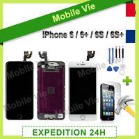VITRE TACTILE+ECRAN LCD COMPLET IPHONE 6/6 Plus/6S/6S Plus NOIR ou BLANC +OUTILS