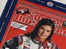 Indy 500 DANICA PATRICK Hand Signed 2005 Texas Motor Speedway PROMO POSTER New!