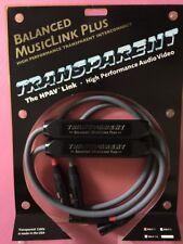 Transparent Audio Balanced MusicLink Plus Interconnect 1m Pair(BMLP 1)
